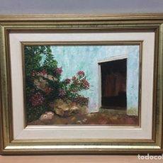 Arte: PINTURA AL ÓLEO SOBRE LIENZO FIRMADA POR VALLS. Lote 185778520