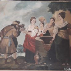 Arte: OLEO SOBRE LIENZO FIRMADO. Lote 185874976