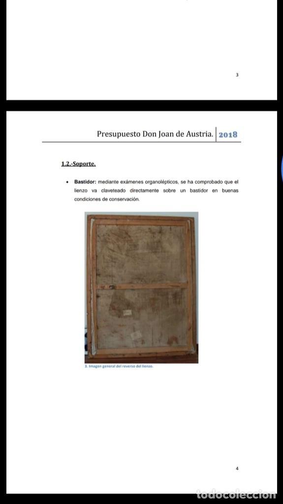 Arte: Cuadro de don Juan de austria - Foto 3 - 185922700