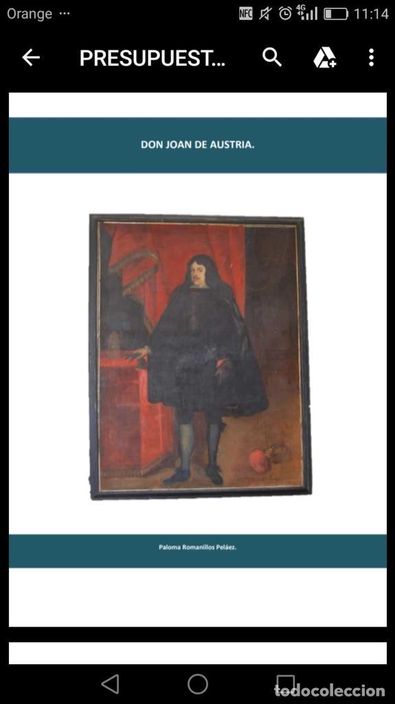 Arte: Cuadro de don Juan de austria - Foto 6 - 185922700