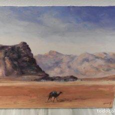 Arte: PINTURA PEDRO OLIVARES - OLEO - TELA - 65X54CM . Lote 185929436