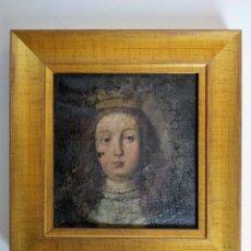 Arte: RETRATO DE DAMA CORONADA, SIGLO XVI - XVII. Lote 185952437