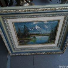 Arte: PINTURA PAISAJE ANTIGUA. Lote 185966336