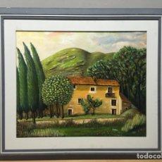 Arte: PINTURA AL ÓLEO SOBRE LIENZO FIRMADA. Lote 185983086