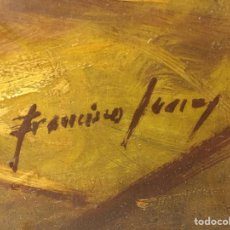 Arte: OLEO GITANAS BANDOLEROS EN TABLAO-TABERNA. Lote 185990573