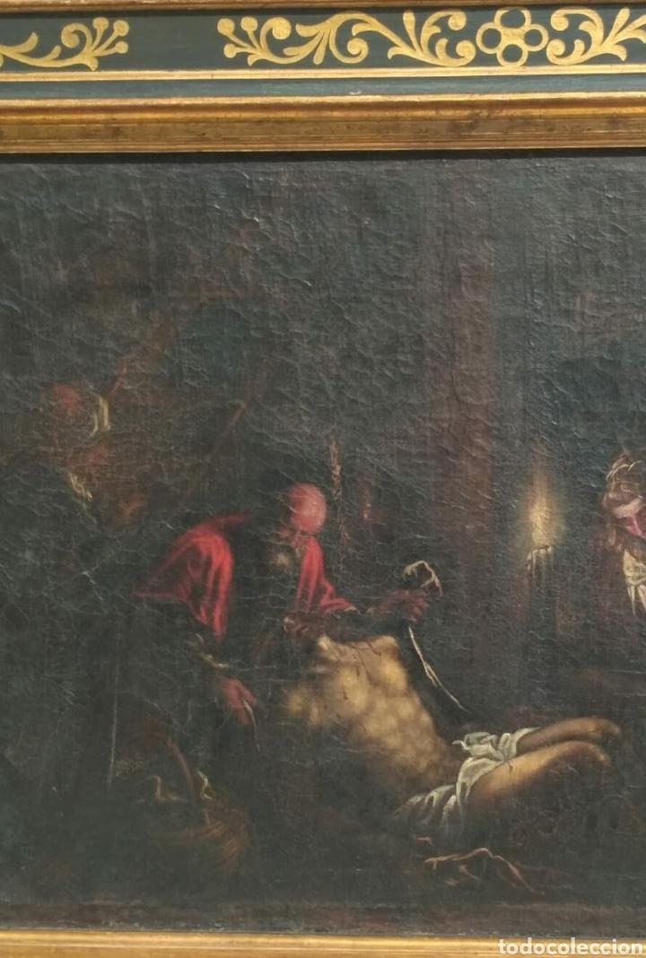 Arte: Oleo sobre lienzo antiguo - Foto 2 - 186007215