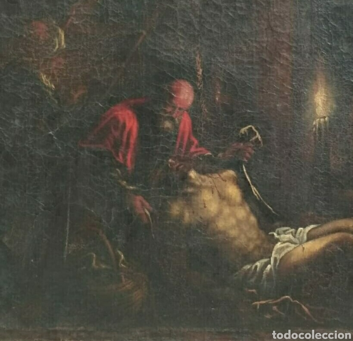 Arte: Oleo sobre lienzo antiguo - Foto 3 - 186007215