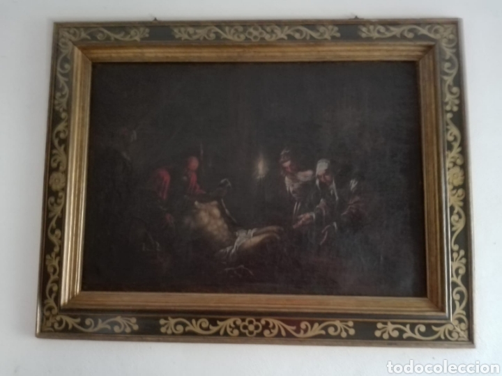Arte: Oleo sobre lienzo antiguo - Foto 4 - 186007215