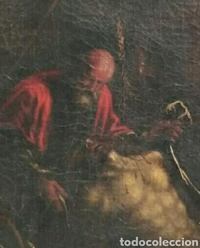 Arte: Oleo sobre lienzo antiguo - Foto 6 - 186007215