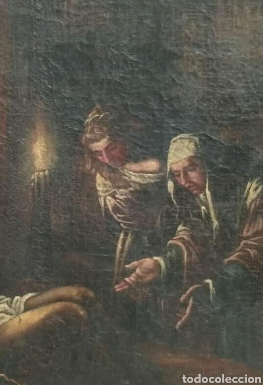 OLEO SOBRE LIENZO ANTIGUO (Arte - Pintura - Pintura al Óleo Antigua siglo XVII)