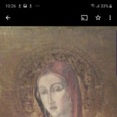 Arte: MAGDALENA TABLA ANTIGUA.. Lote 186046788