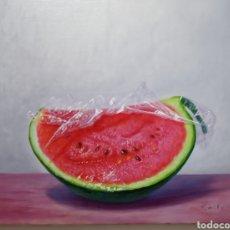 Arte: BODEGÓN DE RODOLFO REGAÑO ARTE MODERNO. Lote 186050650