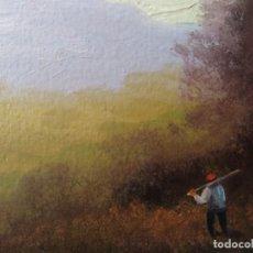 Arte: ÓLEO SOBRE TABLA FIRMADO AUTOR DESCONOCIDO.. Lote 186075298