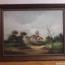 Arte: CUADRO OLEO FIRMADO. Lote 186087816