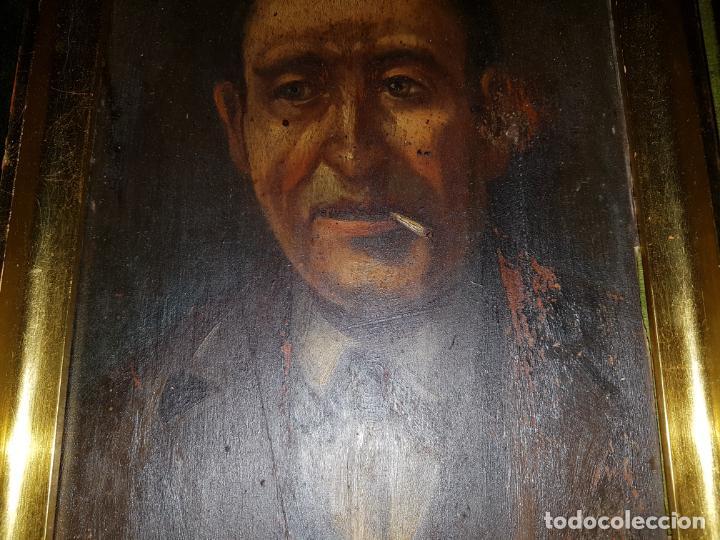 Arte: PAREJA DE OLEOS SOBRE TABLAS. SIGLO XIX - Foto 2 - 186106680