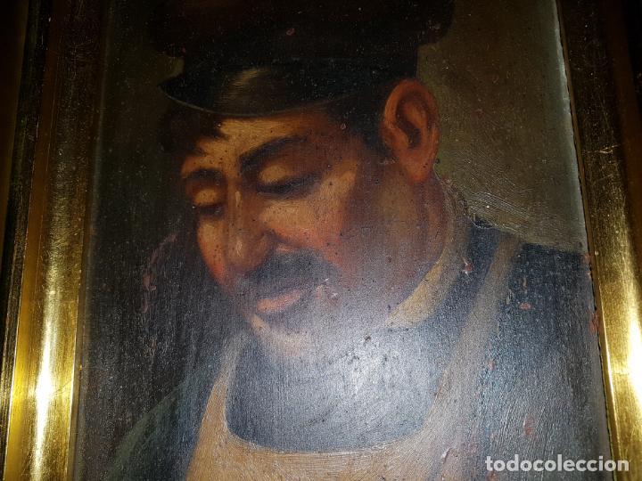 Arte: PAREJA DE OLEOS SOBRE TABLAS. SIGLO XIX - Foto 5 - 186106680