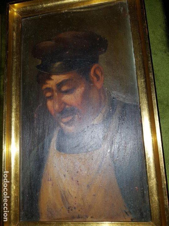 Arte: PAREJA DE OLEOS SOBRE TABLAS. SIGLO XIX - Foto 11 - 186106680