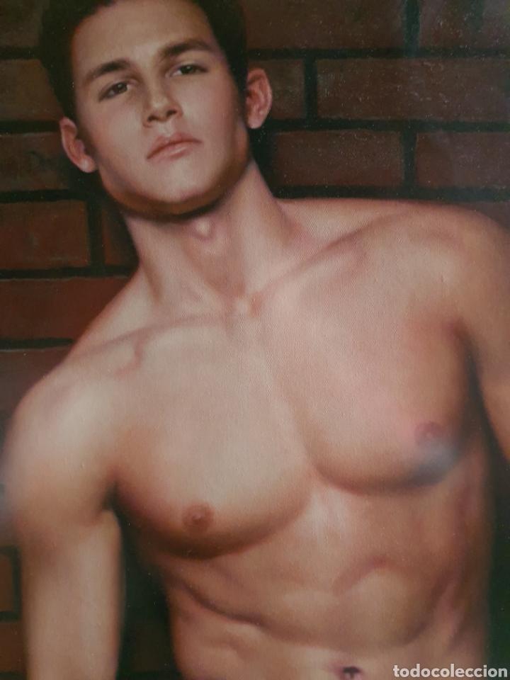 Arte: retrato desnudo joven masculino. manu hoyos - Foto 2 - 186116865