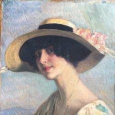 Arte: NOGUE MASSO JOSÉ (1880-1973) PINTOR ESPAÑOL. OLEO SOBRE TELA POSTERIORMENTE PEGADO A MADERA . Lote 186145995