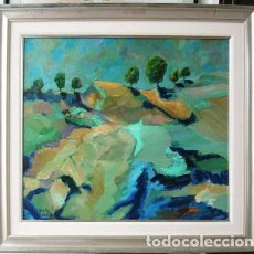 Arte: OLEO SOBRE LIENZO DE MIRALLES OBRA PAISAJE. Lote 186160418