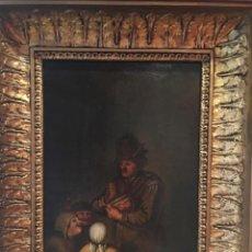 Arte: LE JOEUR DE ROMMELPOT. QUIRINGH GERRITSZ. VAN BREKELENKAM. Lote 185976001