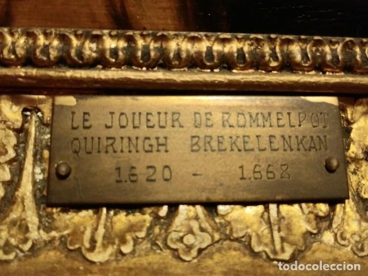 Arte: Le joeur de rommelpot. Quiringh Gerritsz. van Brekelenkam - Foto 3 - 185976001