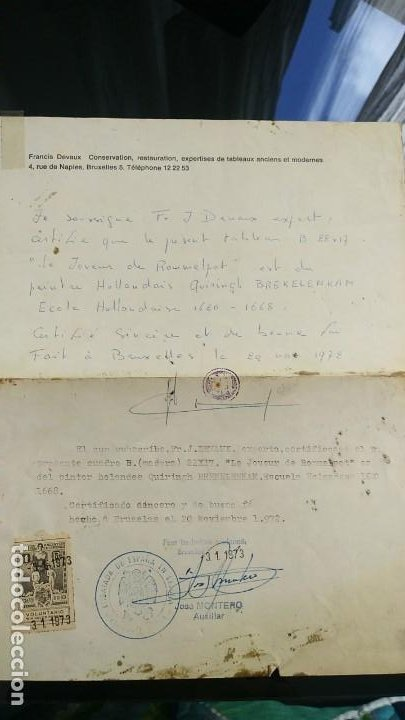 Arte: Le joeur de rommelpot. Quiringh Gerritsz. van Brekelenkam - Foto 5 - 185976001