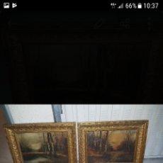 Arte: OLEOS MUY ANTIGUOS, PARA RESTAURAR.. Lote 186289243