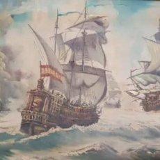 Arte: BATALLA NAVAL - DE NICK SIMARRO. Lote 186291582
