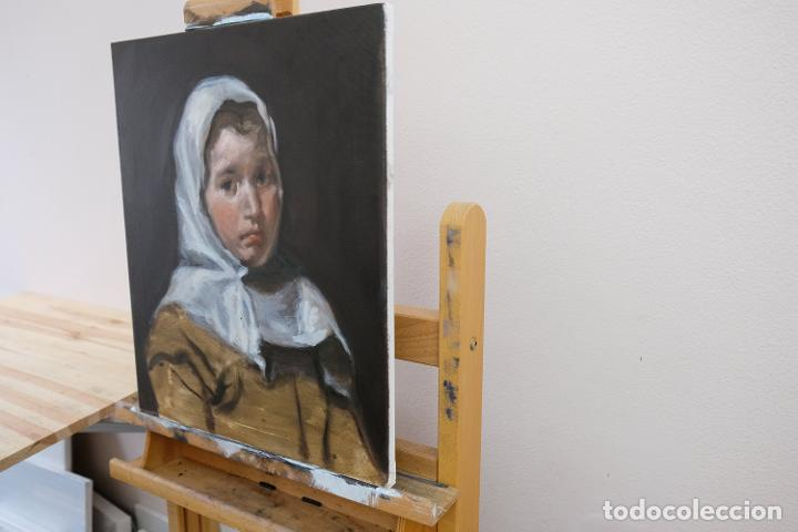 Arte: Copia de Velázquez, Una joven campesina - Foto 3 - 186362956