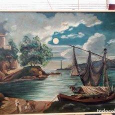 Arte: PINTURA PAISAJE, ÓLEO SOBRE LIENZO. Lote 186400865