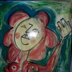 Arte: CUADRO OLEO LIENZO FIRMADO JM. Lote 186439627