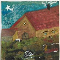 Arte: ANTONI MARTÍ (SEUDÓNIMO) CASSERRES, 1960 - TÉCNICA MIXTA SOBRE PAPEL 27 X 21 - FIRMADO Y CERTIFICADO. Lote 186443525