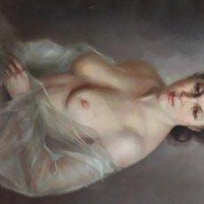 Arte: OLEO DESNUDO FEMENINO. Lote 186457736