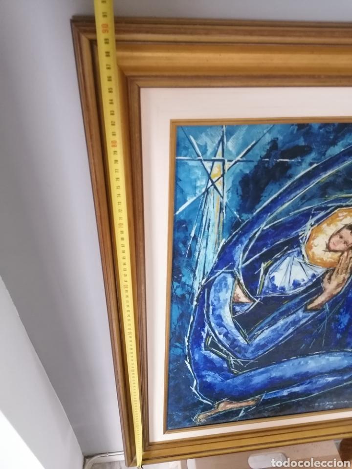 Arte: Vicente de Espona 1970 (1918 - 1995) con marco 90x65 / sin marco 70x44 cm - Foto 14 - 186460331