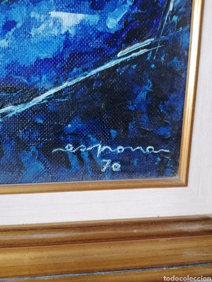 Arte: Vicente de Espona 1970 (1918 - 1995) con marco 90x65 / sin marco 70x44 cm - Foto 17 - 186460331