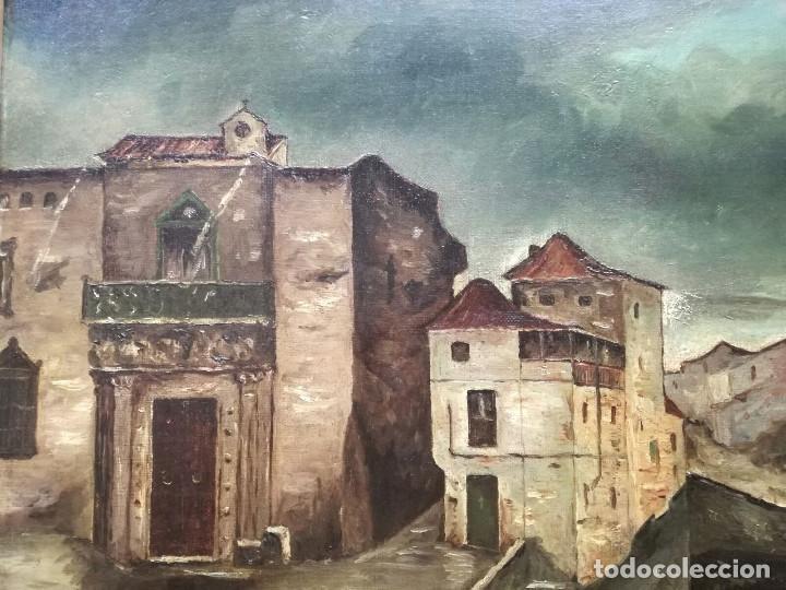 Arte: Antonio Muñoz Degrain por Gabriel Palencia y Ubanell (Madrid, 1869 - ?).Recuerdos de Granada - Foto 3 - 187179930