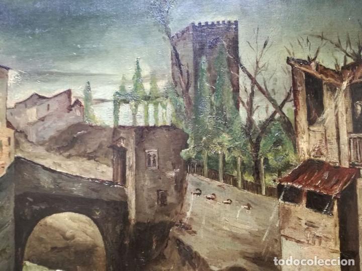 Arte: Antonio Muñoz Degrain por Gabriel Palencia y Ubanell (Madrid, 1869 - ?).Recuerdos de Granada - Foto 4 - 187179930