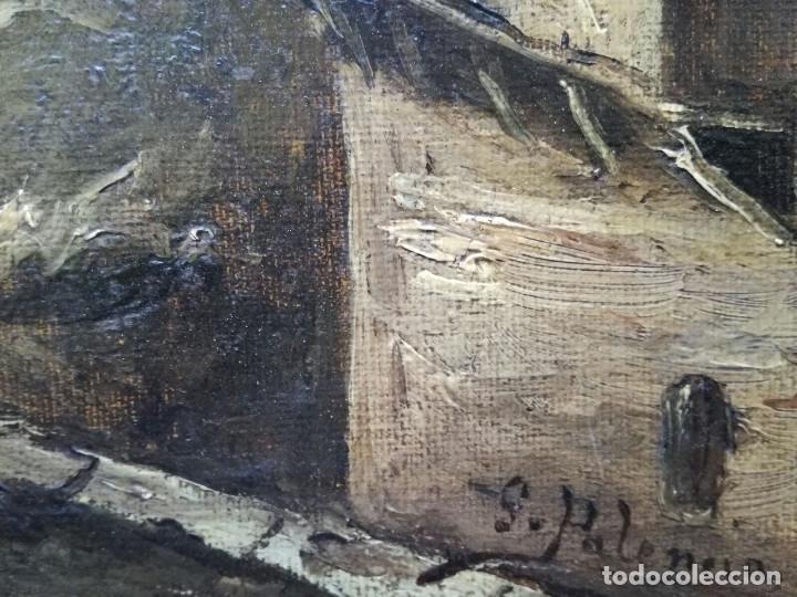Arte: Antonio Muñoz Degrain por Gabriel Palencia y Ubanell (Madrid, 1869 - ?).Recuerdos de Granada - Foto 7 - 187179930
