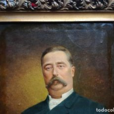 Arte: RETRATO FRANCÉS SIGLO XIX FIRMADO.. Lote 187180915