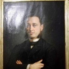 Arte: SEGUNDO MATILLA Y MARINA. FECHA: 1885. RETRATO. Lote 187184396