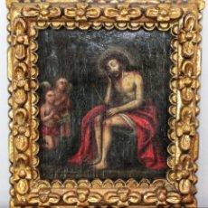 Arte: TALLER DE JUAN FERNÁNDEZ DE NAVARRETE (1526-1579) ECCE HOMO SIGLO XVI. Lote 187327948
