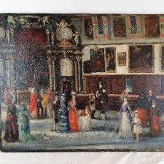 Arte: OLEO SOBRE TABLA MUY ANTIGUO. Lote 187448793