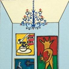 Arte: X MIRA OBRA HOMENAJE A VICTOR MIRA DE LA PINTORA CANARIA RUTH CALDERÍN (LPGC 1977). Lote 187492332