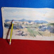 Arte: SEGOVIA.SIERRA DE LA MUJER MUERTA.. Lote 187548056