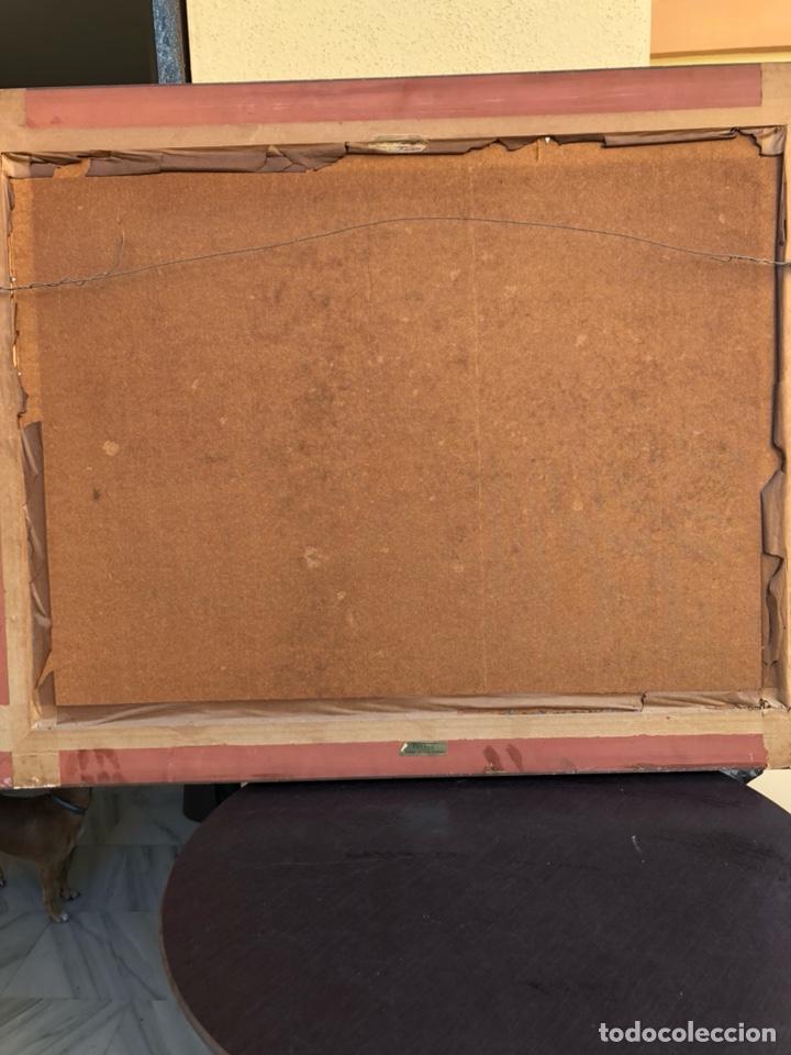 Arte: Precioso óleo sobre tabla a identificar, gran tamaño - Foto 5 - 188411532
