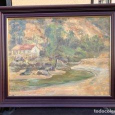 Arte: PRECIOSO ÓLEO SOBRE TABLA FIRMADO EUGENIO KORINI. Lote 188415545