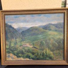 Arte: PRECIOSO ÓLEO SOBRE TABLA FIRMADO EUGENIO KORINI. Lote 188416181