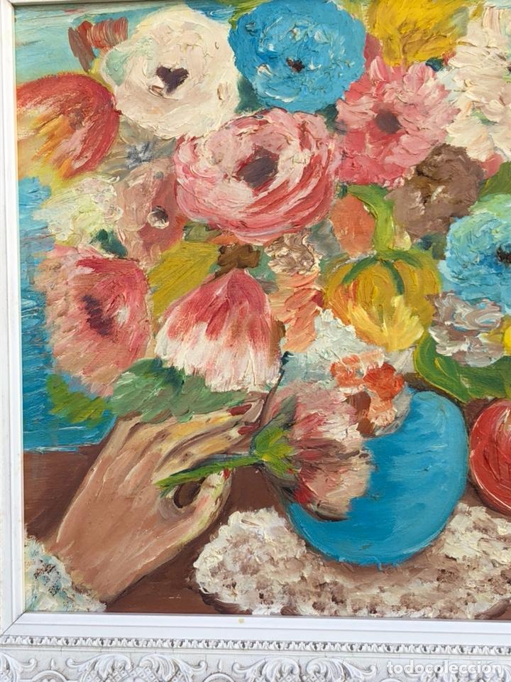 Arte: Precioso óleo sobre lienzo firmado - Foto 2 - 188416751