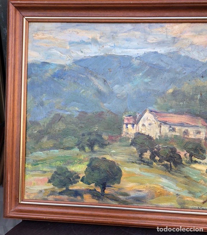 Arte: Precioso óleo sobre lienzo firmado Eugenio korini - Foto 2 - 188417011